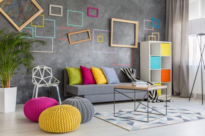 Extraordinary Grey Living Room