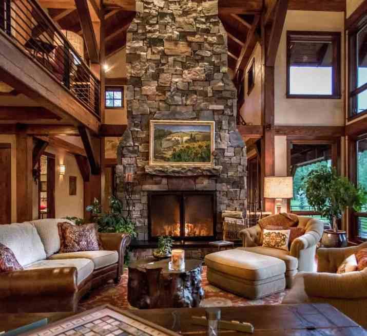 Splendid Rustic Living Room