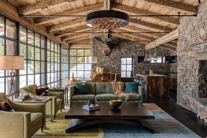 Wonderful Rustic Living Room