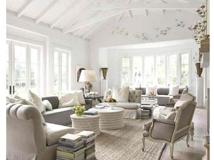 Clear French Country Living Room.