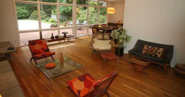 Exquisite Mid Century Living Room