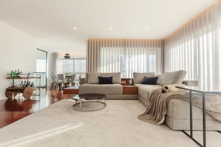 Open Living Room Style for Modern Apartment