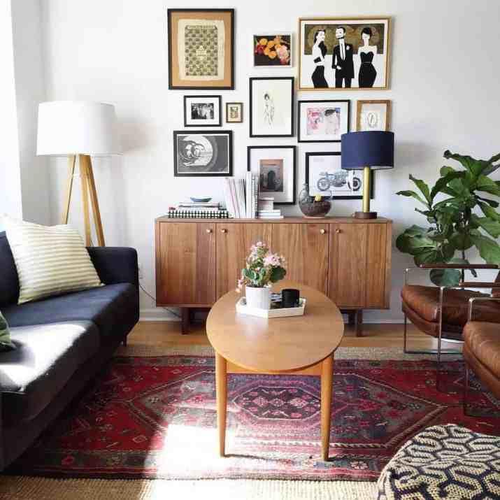 Vintage Mid Century Living Room