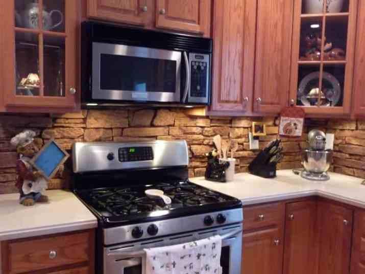 Airstone DIY Kitchen Backsplash