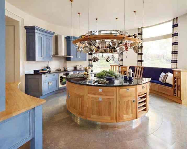 Amazing Round Kitchen Island