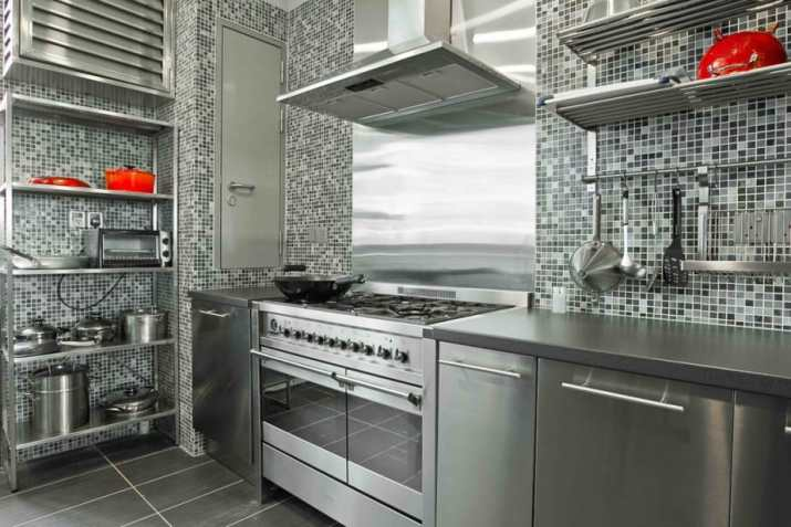 Futurist Industrial Kitchen