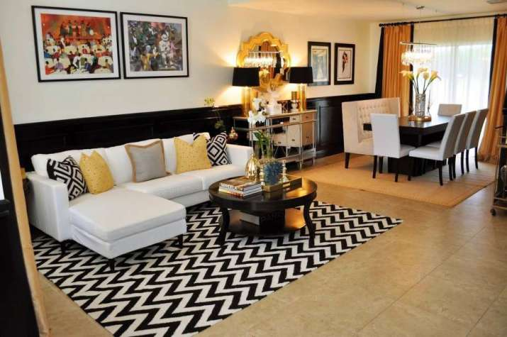 Black and Gold Room Combo Ideas