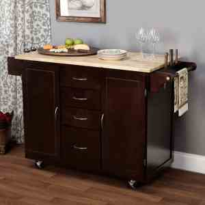 Dainty Kitchen Island Cart
