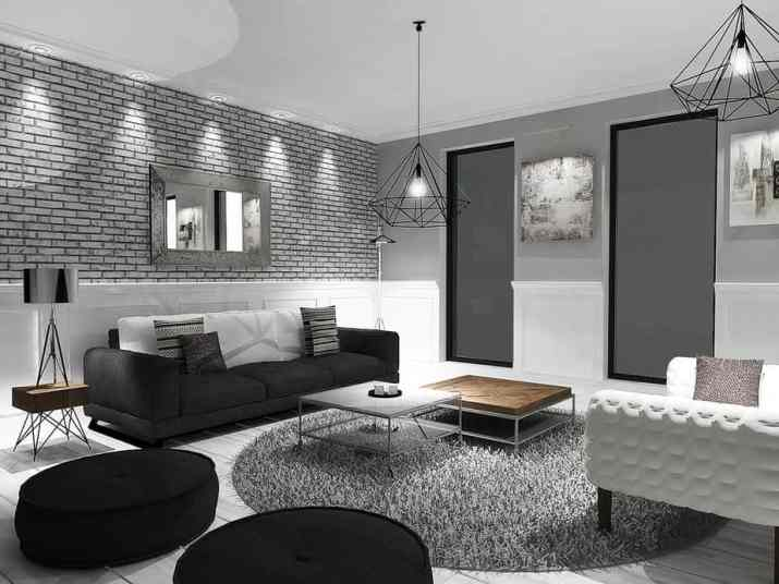 Awesome Grey Living Room