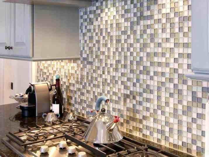 Mini Tile Backsplash on A Budget