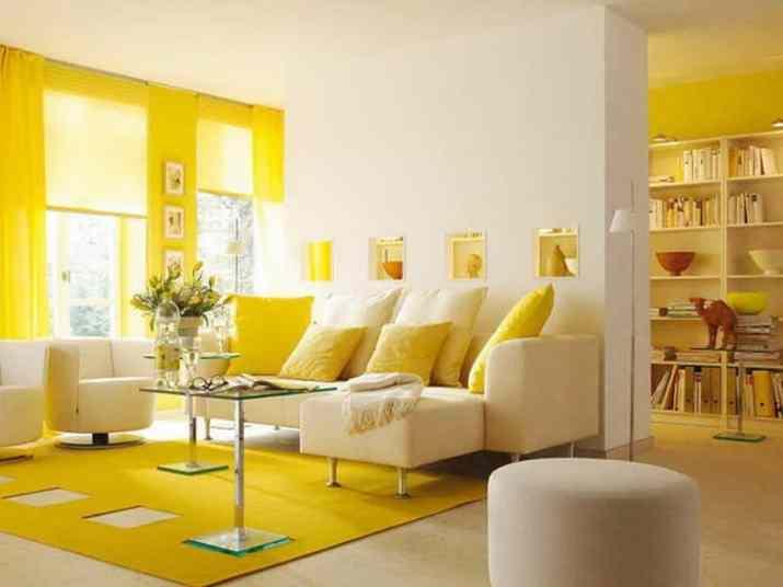 Vibrant Living Room Curtain