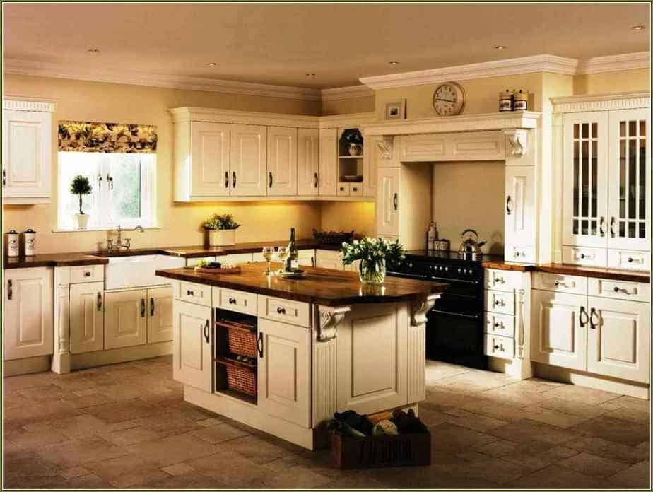 Wide L Shaped Kitchen