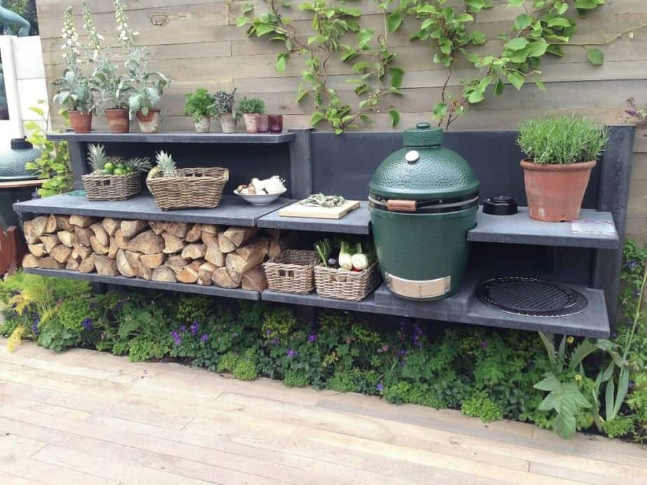 10 Big Green Egg Outdoor Kitchen Ideas 2021 All In One