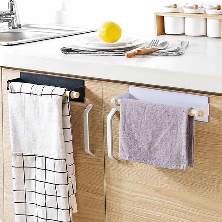 Clever Towel Kitchen Holder