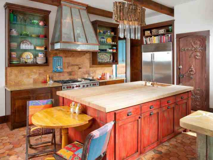 Colorful Tuscan Kitchen