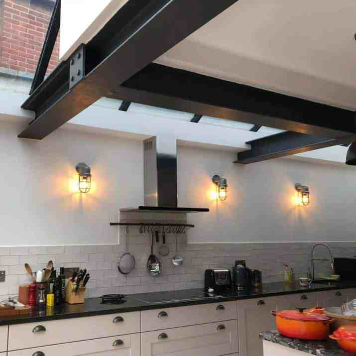 Radiant Kitchen Wall Lighting