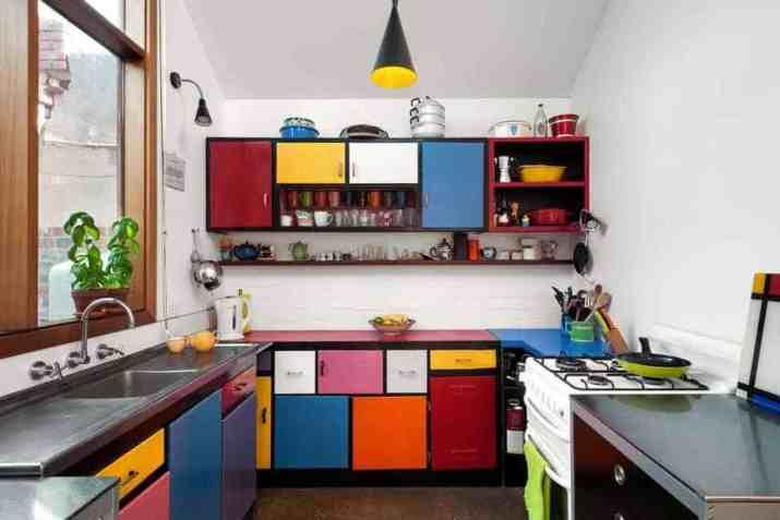 Splendid Colorful Kitchen
