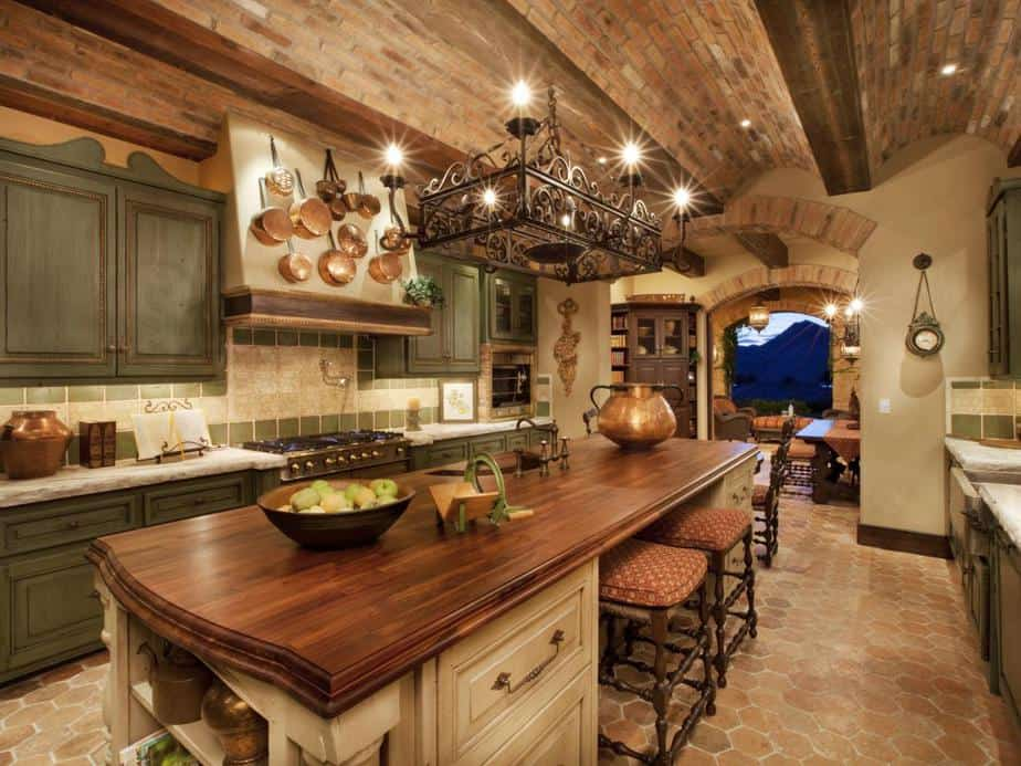 Ultimate Tuscan Kitchen