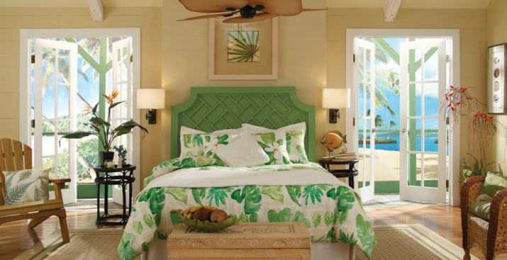 Tropical Large Bedroom