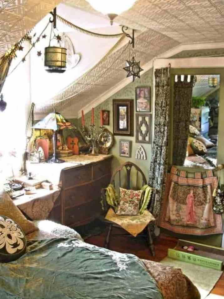 Charming Hippie Bedroom