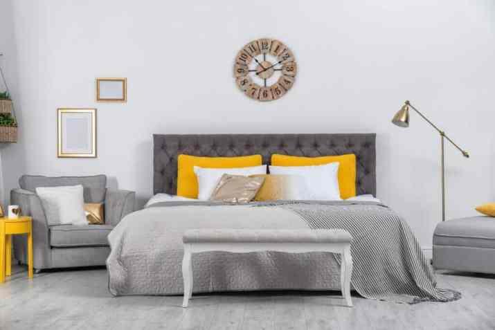 Cheerful Grey Bedroom