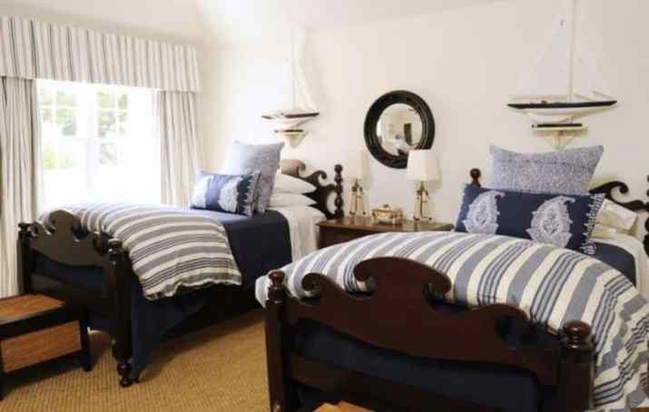 Nautical Twin Bedroom