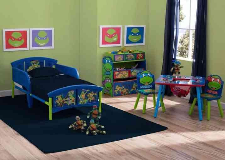 Complete Ninja Turtles Bedroom