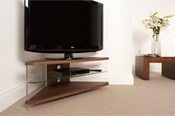 Corner Bedroom TV Stand