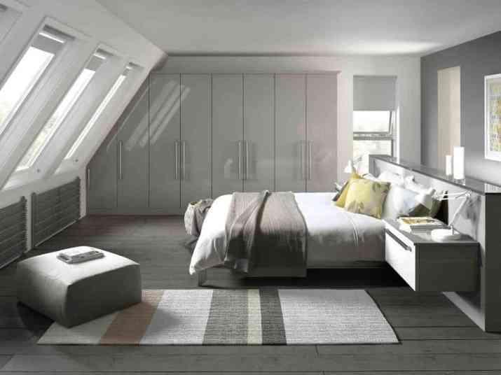 Cozy Grey Bedroom