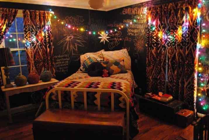 Hippie Woman Bedroom