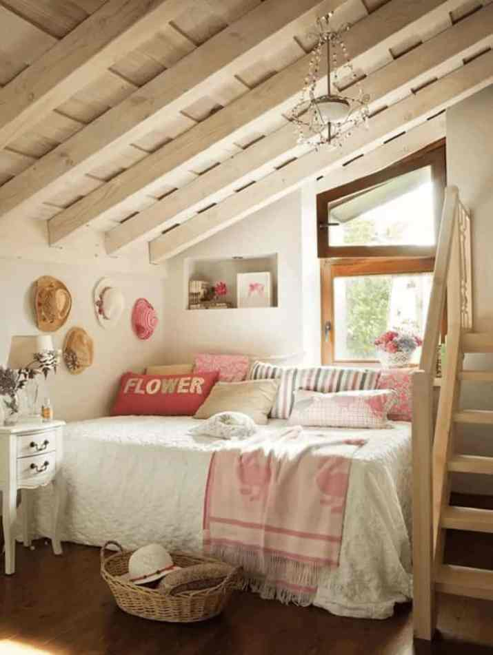 Girly French Country Bedroom