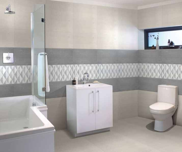 Bathroom with Various Grey Shades