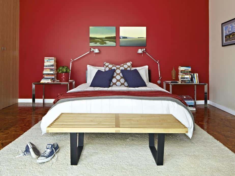 Bold Bachelor Bedroom