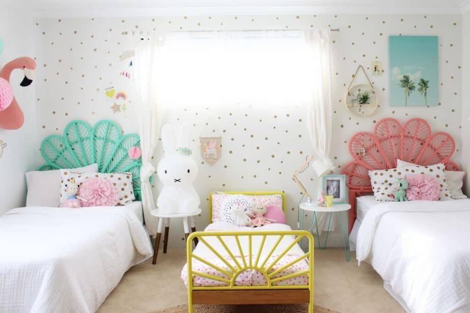 Cute Colorful Bedroom