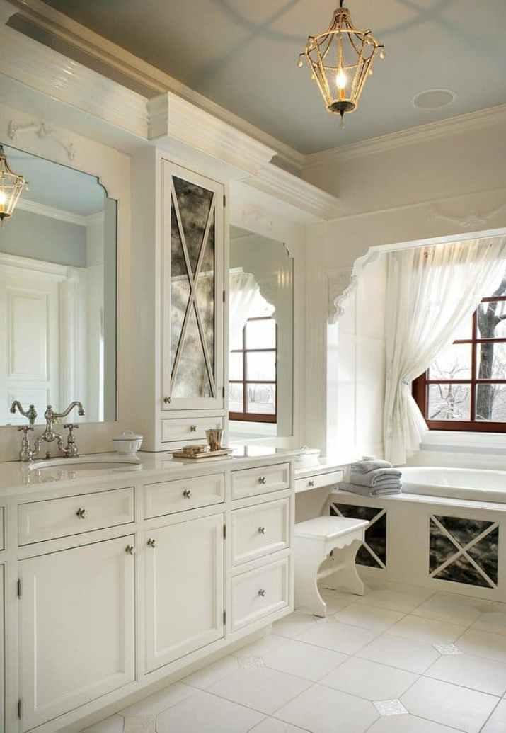 Light Bathroom Chandelier