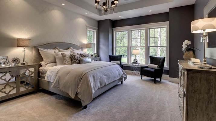 Creative Grey Bedroom
