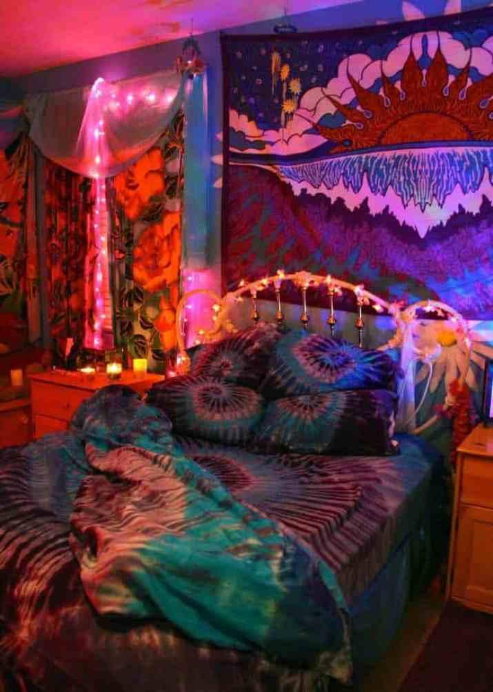 Mysterious Hippie Bedroom