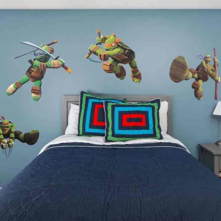 Nice Ninja Turtles Bedroom