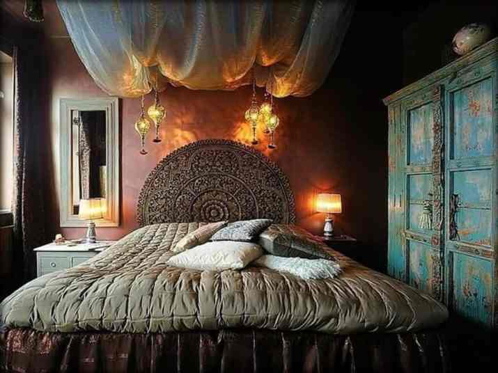 Old Gothic Bedroom