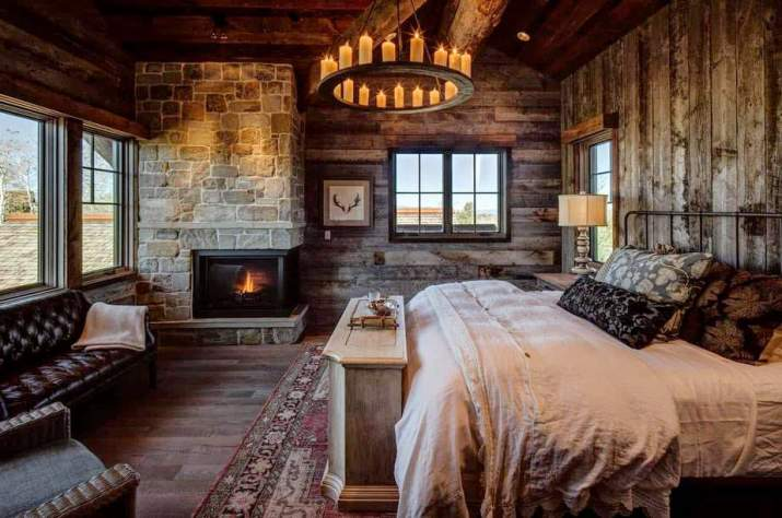 Refreshed Traditional Country Bedroom