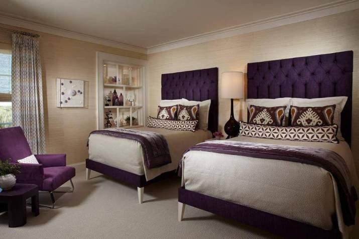 Purposeful Purple Bedroom