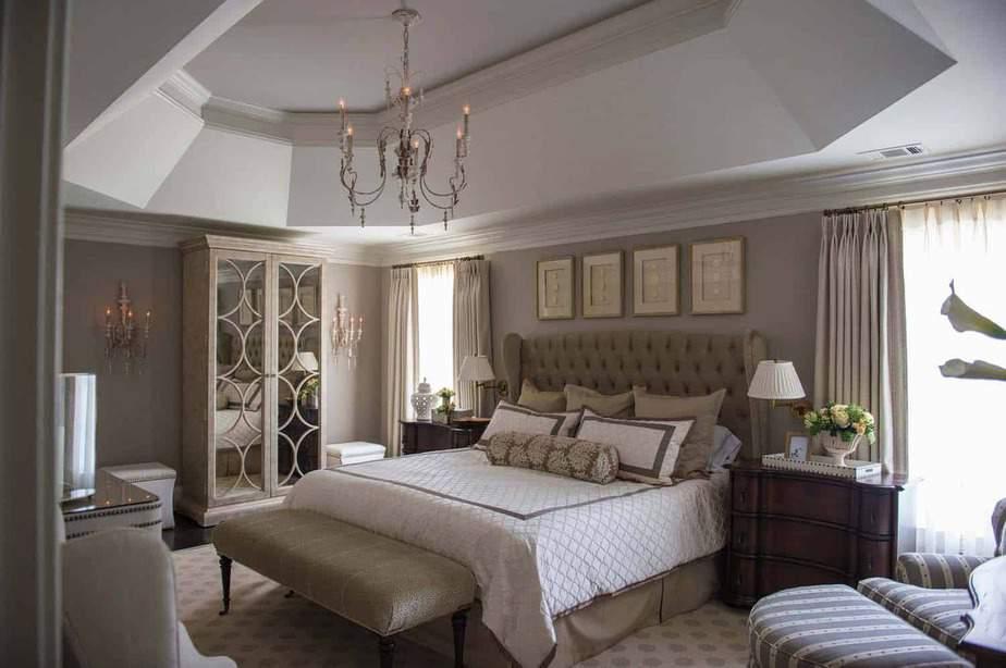Modern Vintage Glamour Bedroom