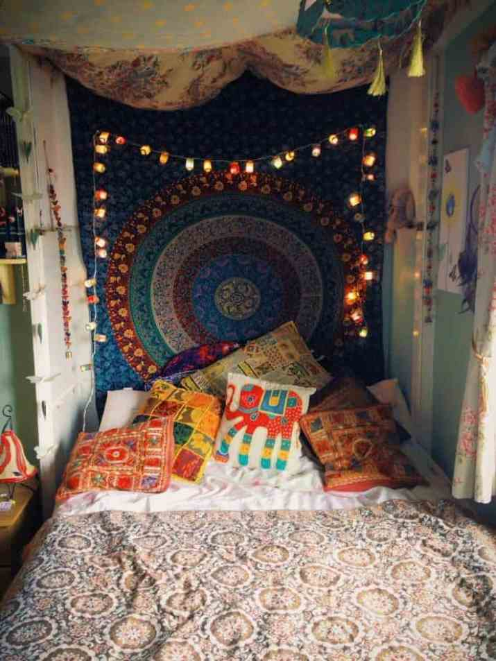 Soft Hippie Bedroom