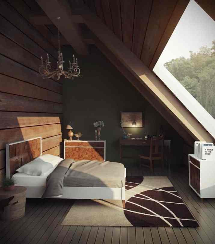 Stunning Attic Bedroom