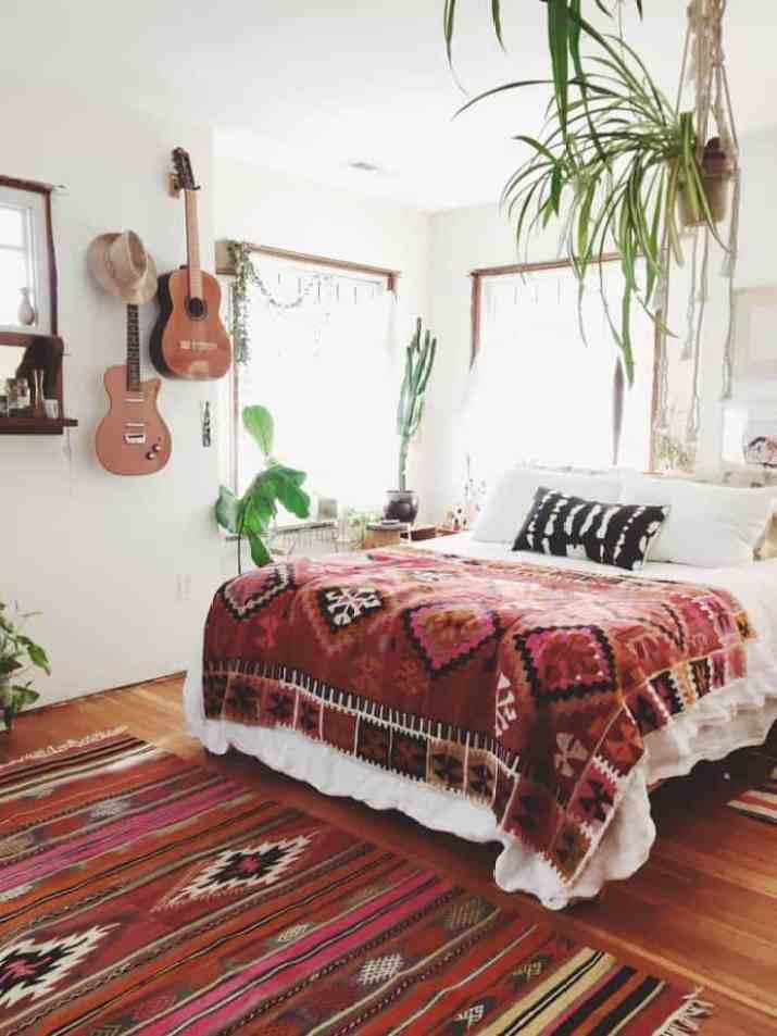 Tribal Bohemian Bedroom