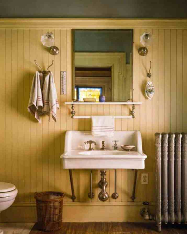 Bright Beadboard Bathroom