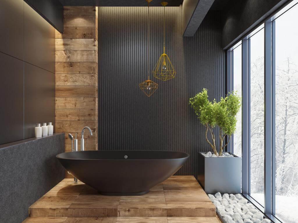 Elegant Mens Bathroom