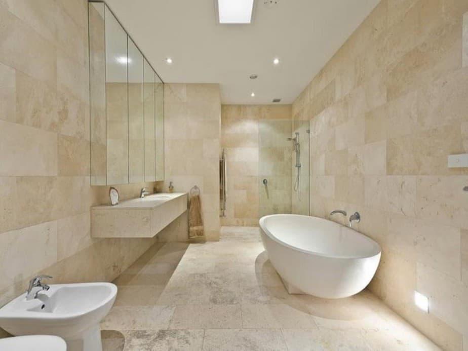 10 Travertine Bathroom Ideas 2021 The Natural Tone