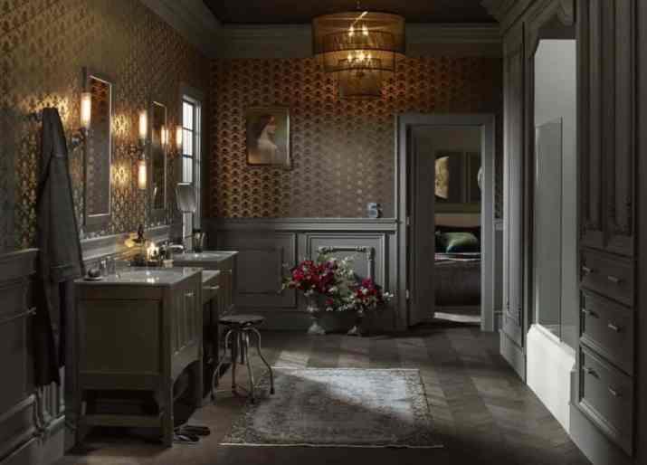 Magnificent Bathroom Chandelier