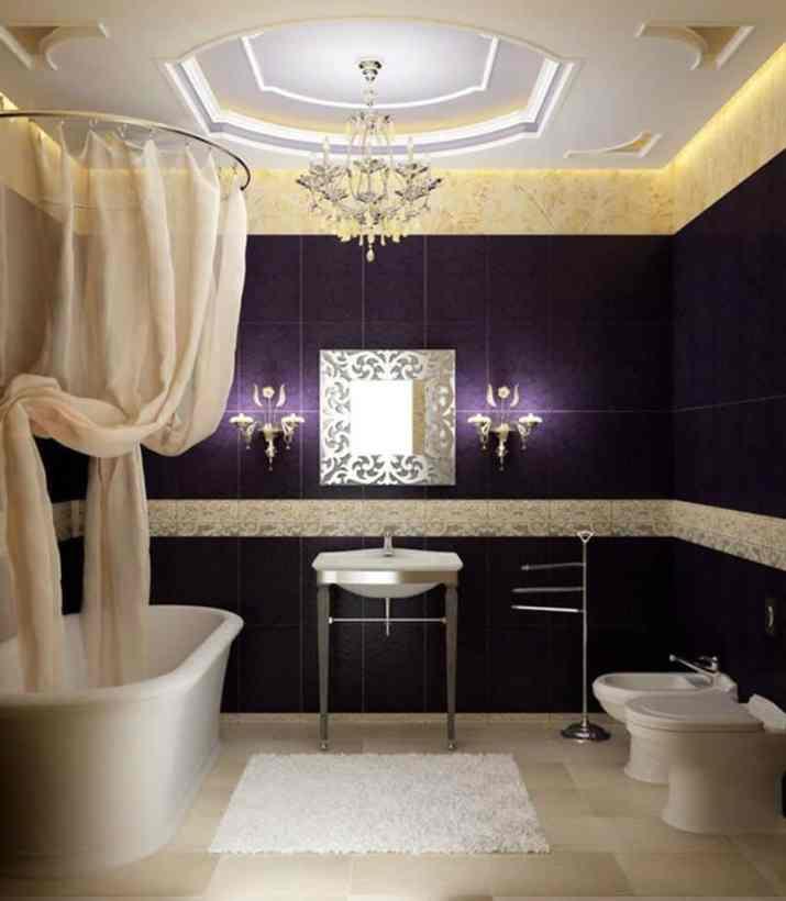 Beautiful Bathroom Chandelier